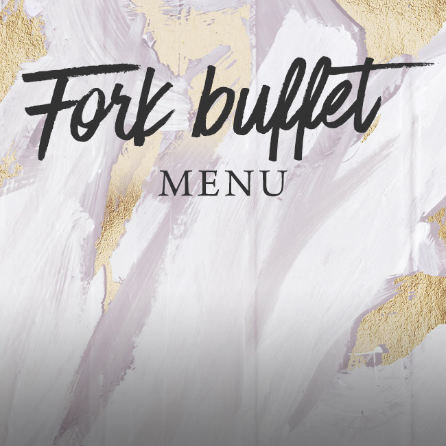 Fork buffet menu at Ashton
