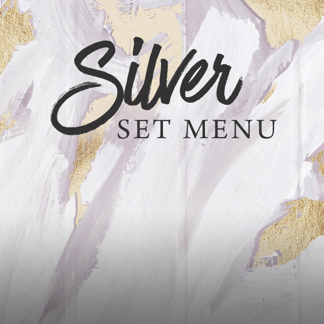 Silver set menu at Ashton