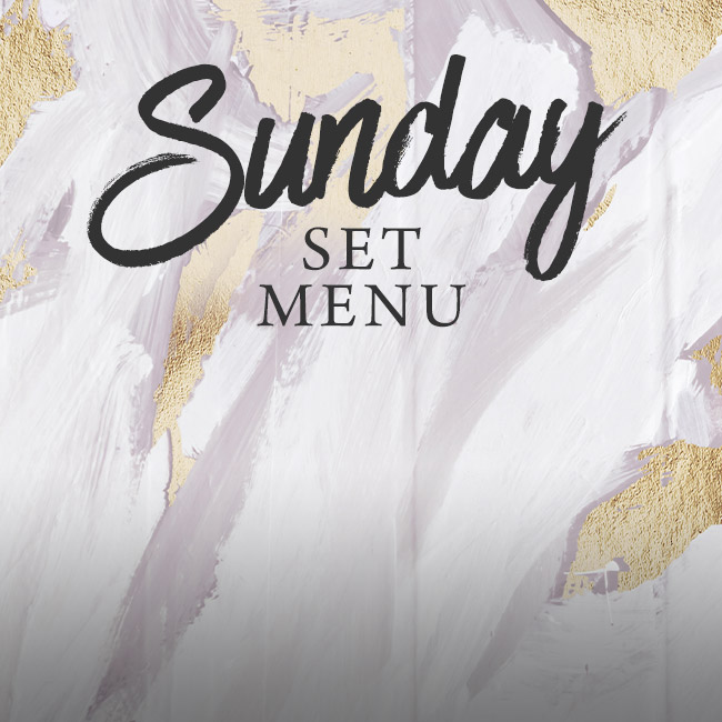 Sunday set menu at Ashton