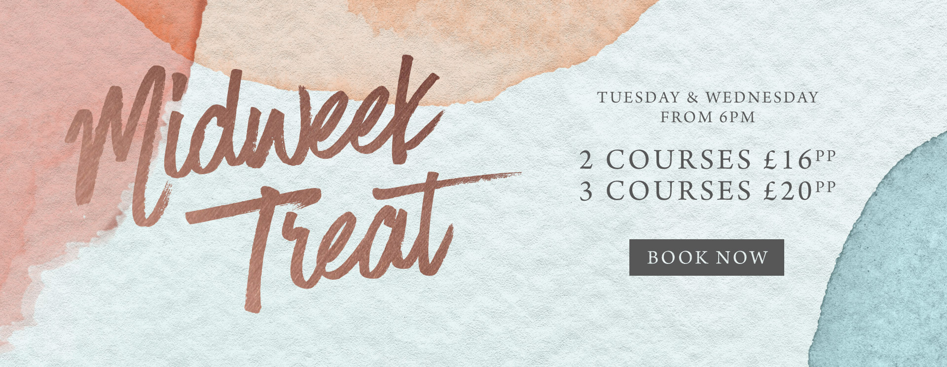 Midweek treat at Ashton - Book now
